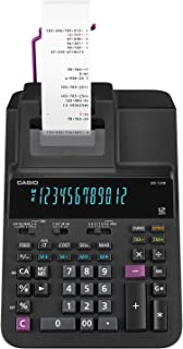 Casio 卡西欧 Office Products DR-120R 全尺寸打印计算器 黑色