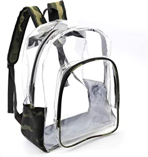 透视透明背包 迷彩色 大