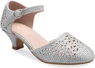 OLIVIA K 女式系带水点镂空坡跟凉鞋 - 性感露趾鞋跟 - 舒适、时尚、休闲风格