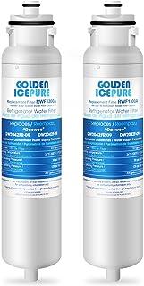 GOLDEN ICEPURE DW2042FR-09 Aqua Crystal 滤水器替换件 LG Daewoo DW2042FB, 469130, 冰箱 111.7304561, 60199-0006802-00, FRN-Y22D2V, F...