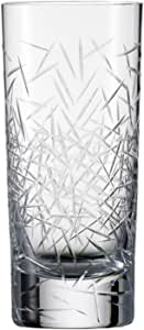 Zwiesel 1872 Charles Schumann Hommage Collection Glace Handmade Glass Large Long Drink, 16.4-Ounce, Set of 2
