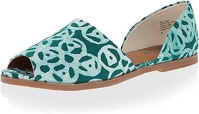 BC Footwear 女士 Happy as a Clam Emerald Della Print 8 M US