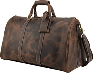 polare 58.4cm 粗呢全粒面皮革 WEEKENDER 旅行袋行李箱
