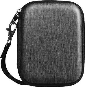 Fintie 硬壳外部硬盘便携包 Z-Denim 炭黑色