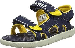 Timberland Perkins 双带式儿童凉鞋