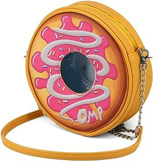 Oh My Pop Oh My Pop! Popnut-圆形单肩包邮差包,18 厘米,粉色