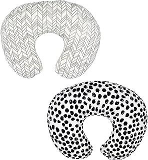 2 件装(箭头和斑纹)哺乳枕套,用于哺乳枕,柔软舒适,可*适用于标准婴儿哺乳枕(箭头和斑纹)(箭头和斑纹)