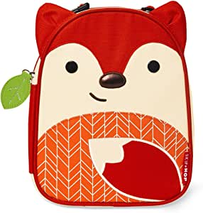 Skip Hop Baby Zoo 小孩和学步儿童隔热防水午餐袋 Fox