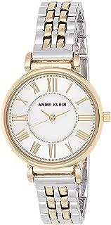 ANNE KLEIN 双色手链手表,罗马数字表盘