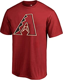 Outerstuff MLB 青年 8-20 球队颜色 Cool Base 聚酯纤维性能 Primary 徽标 T 恤