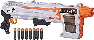 NERF Ultra Three Blaster Pump-Action,8飞镖内夹,8颗Ultra Darts,仅兼容Ultra Darts