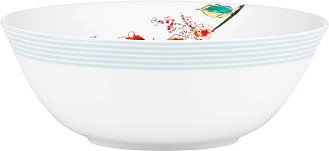 Lenox Chirp Stripe Serving Bowl, White