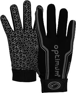 Optimum 运动抓地力足球接收器手套,适合青少年和成人