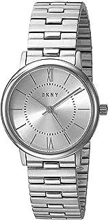 DKNY 女士指针式石英手表,带不锈钢表链 NY2547