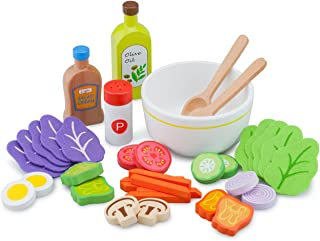 New Classic Toys 10592 - 厨房及食品玩具 - 沙拉套装