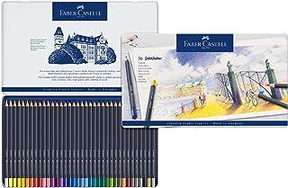 Faber-Castell 辉柏嘉 金色彩色铅笔 金属笔杆, 36-teiliges Zinn-Set