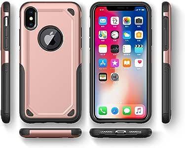 iPhone 新款 AIR 靠垫防震保护 Hybrid ARMOR 手机保护套后盖 玫瑰 iPhone 8 PLUS