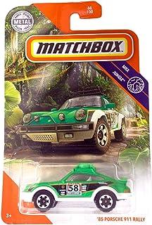 Matchbox 2020 MBX 丛林 66/100 - '85 保时捷 911 拉力赛(*)