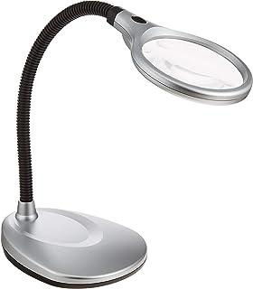 MIZAR 放大镜 立式放大镜 2倍 弹性 带LED灯