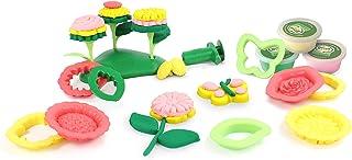 Green Toys DFM1-1244 花机面团套装(21 件)