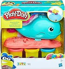 Hasbro 孩之宝 Play-Doh 培乐多彩泥 经典系列 乐趣鲸鱼组合 E0100