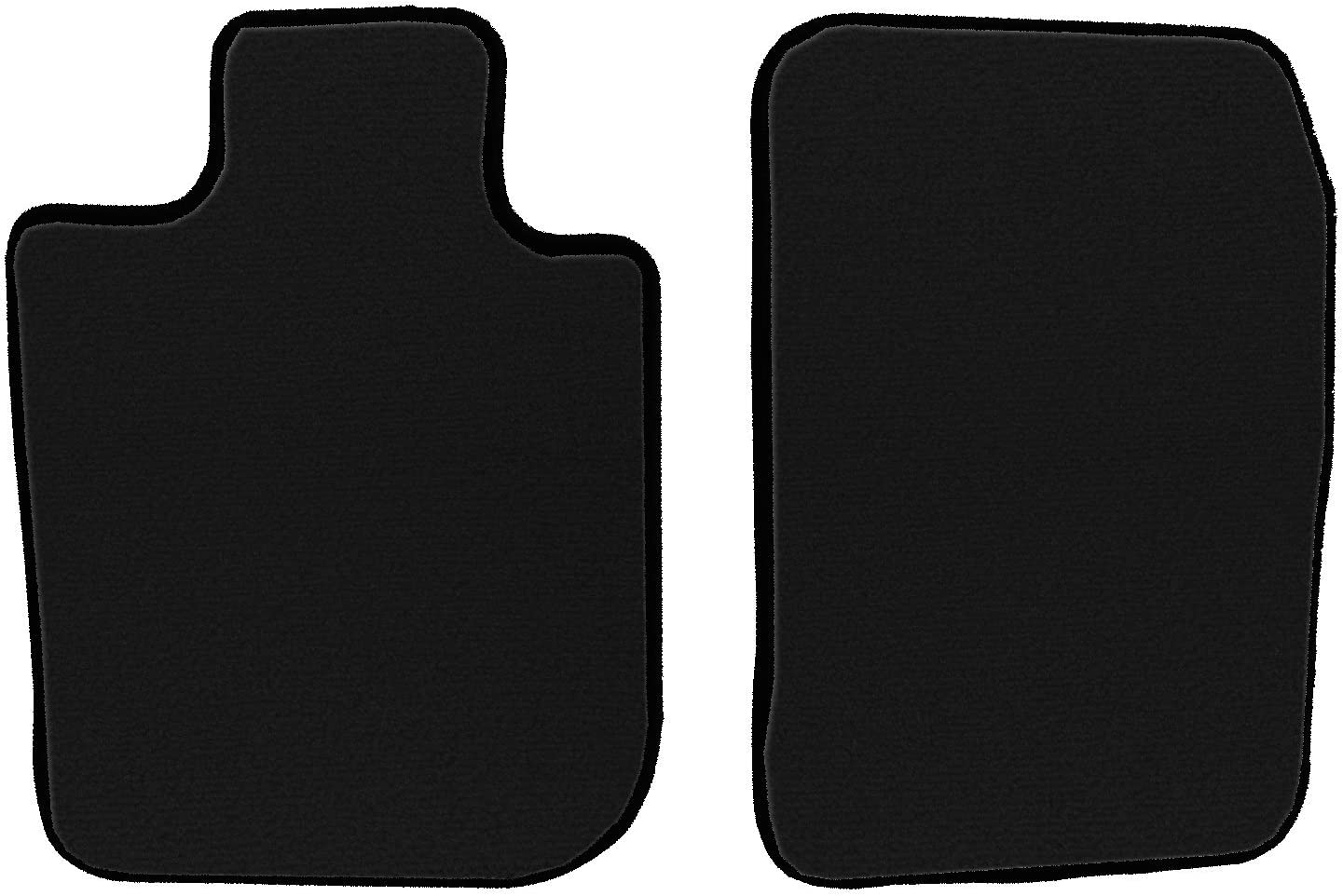 Nylon Carpet CFMAX1AC9078 Black Coverking Custom Fit Front Floor Mats for Select Acura NSX Models