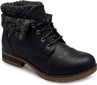 OLIVIA K 女士圆头水钻闪光脚踝 T 型绑带芭蕾平底凉鞋