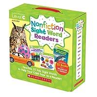 (进口原版) Nonfiction Sight Word Readers Nonfiction Sight Word Readers: Guided Reading Level C, Ages 3-7, Teaches 25 Key Sight Words to Help Your Child Soar as a Reader!