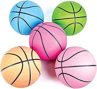 Rhode Island Novelty 24.13 cm 霓虹灯标准篮球(6 件/套)