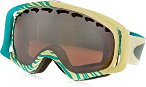 Oakley Crowbar Animalistic Ski Goggles, Turquoise/Black/Rose Irid