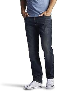 Lee Modern系列男士极限运动直筒锥形牛仔裤