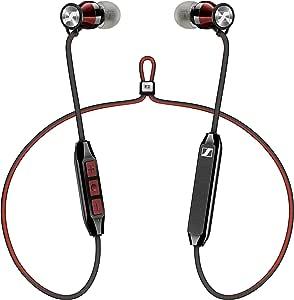 Sennheiser 森海塞尔 Momentum Free SE特别版蓝牙4.2耳机,Qualcomm apt-X低延迟,红色和黑色