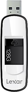 Lexar JumpDrive S75系列U盘 128GB 3.0闪存驱动器- LJDS75-128ABNL(黑色)