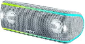 Sony 索尼 SRS-XB41 便携式无线蓝牙音箱 扬声器 IP67防水设计便携迷你音响 白色