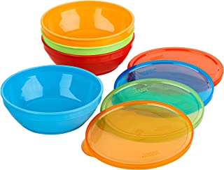 NUK Bunch-a-Bowls,多色,4 件装