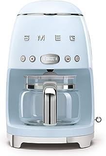 Smeg 50 年代复古风美学滤滴滤咖啡机,10 杯,淡蓝色
