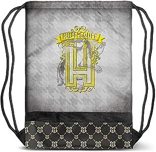 Karactermania 哈利波特徽章 Hufflepuff-Storm 抽绳包 抽绳包