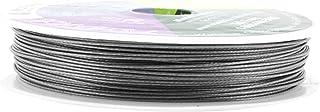 Mandala Crafts 尼龙不锈钢 18 20 22 24 号 7 股柔软灵活珠宝制作串珠线 0.7MM 98FT Stainless Steel Flexible Beading Wire