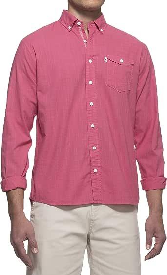 johnnie-O 男式 Brodie 扣角领衬衫