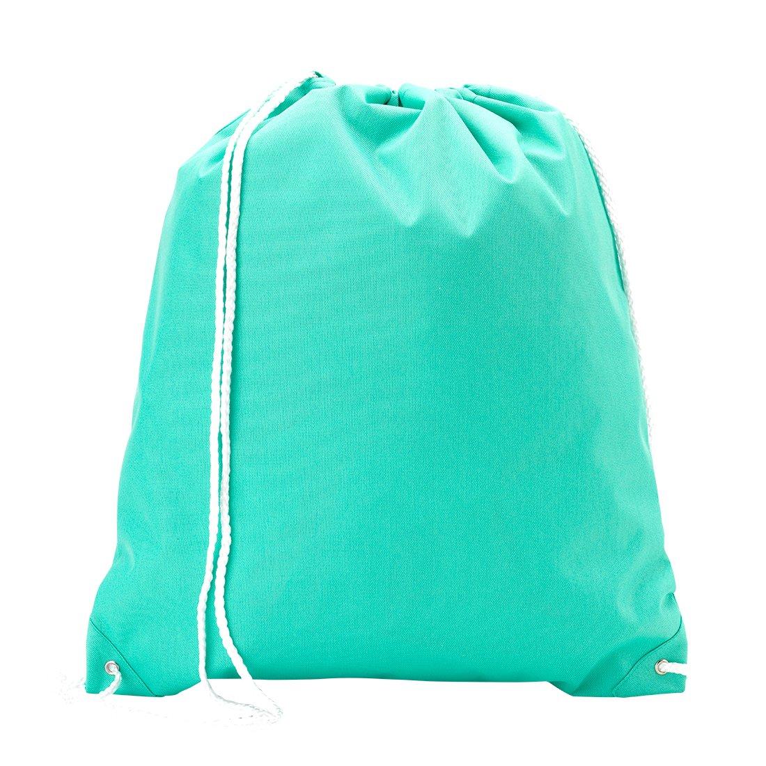 批发 精品背包 款式抽绳健身袋 纯薄荷绿,均码