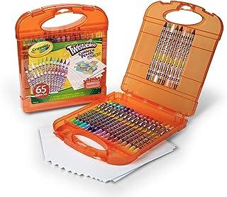 Crayola 绘儿乐 进口学生绘画文具 25色可拧转彩色铅笔礼盒04-5225