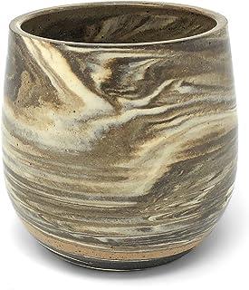 Clay Path Studio 酒杯,大理石棕色