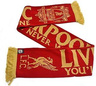 Liverpool FC - * EPL 进口针织围巾 YNWA 红色/金色