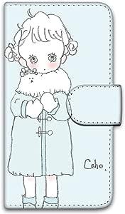 caho 保护套印花翻盖外套与少女手机保护壳翻盖式适用于所有机型  コートと少女D 7_ Huawei honor6 Plus PE-TL10