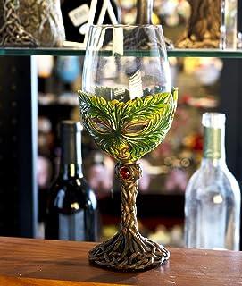 SUMMIT COLLECTION 神话森林精神 Greenman Deity 453.59 毫升酒杯高脚杯巧克力厨房家居装饰