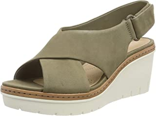 Clarks Palm Candid 女士系带凉鞋