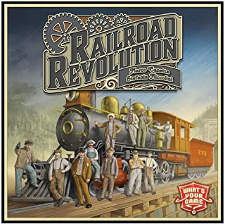 Railroad Revolution Strategy Interactive Family Fun Board Game What's Your GmbH