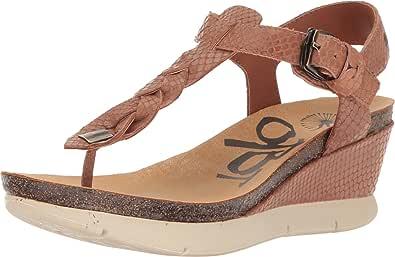 OTBT Graceville 女士坡跟凉鞋 新栗色 6 M US