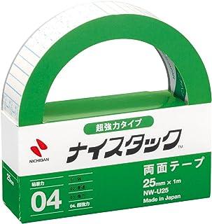 ニチバン 両面テープ ナイスタック 強力 大巻(超強力)/1個 幅25mm×1m巻