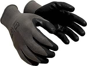 Azusa 尼龙*手套,小号,灰色 中 黑色 N10520-M